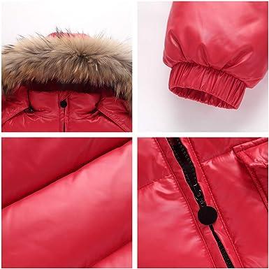 M/&A Boys Girls Packable Puffer Jacket Winter Windproof Hoodie Outerwear