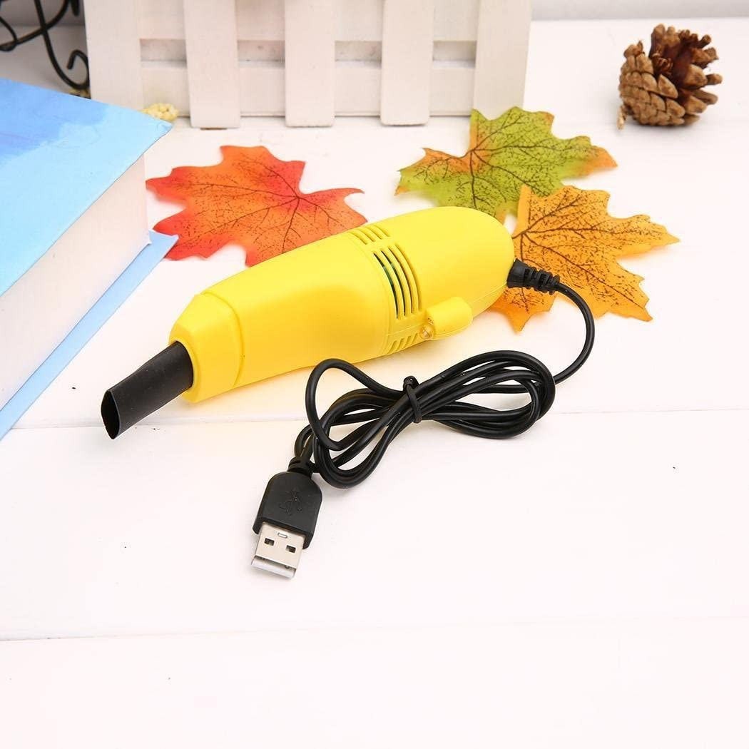 Kemanner Mini USB Vacuum Computers Laptop Keyboard Cleaner Vacuum Brush Cleaning Kit Electronics Compressed Air Dusters