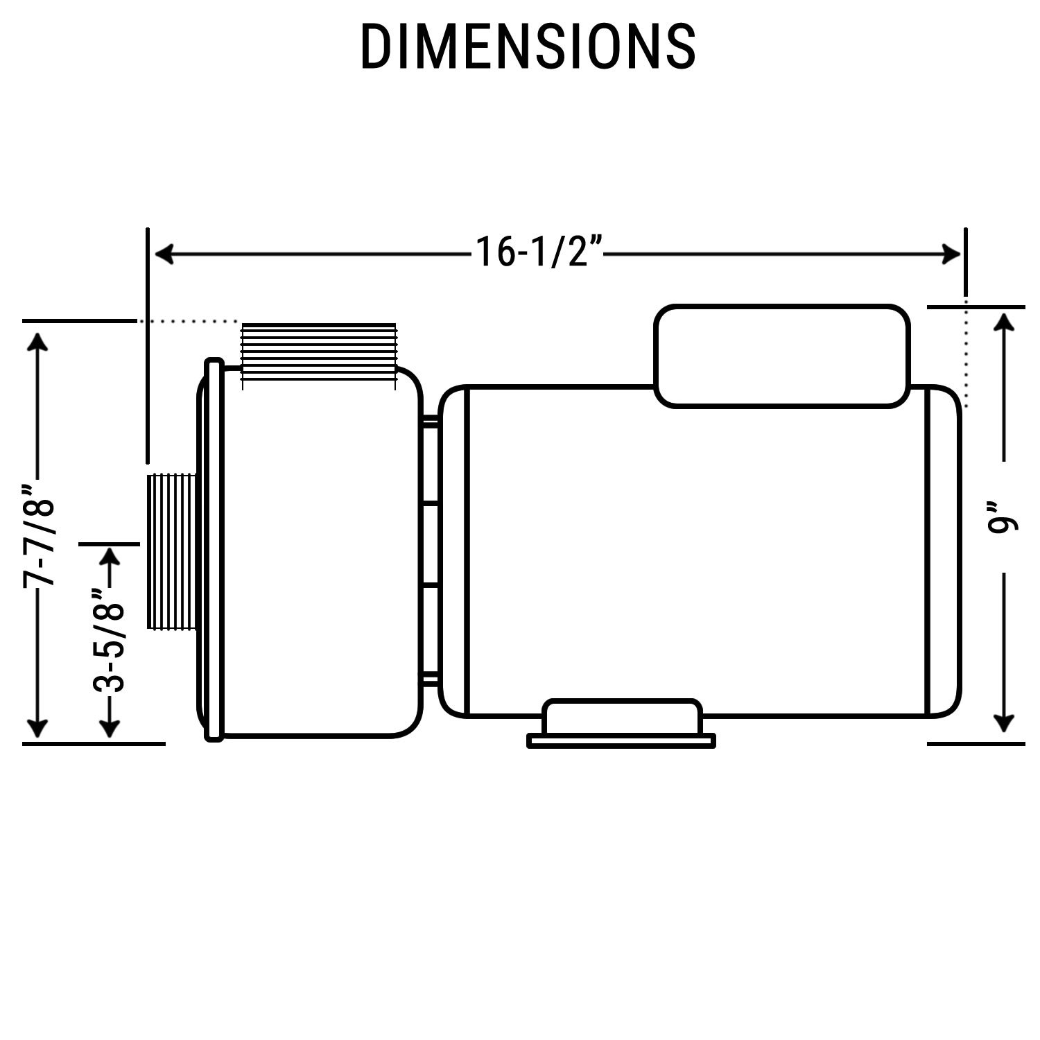 3 Hp Hot Tub Spa Pump Side Discharge 2 Spd 56 Frame Lx Laguna Replacement Parts Motor Repalcement And Diagram 240v By Hydromaster Also Replaces Waterway Or Aqua Flo Garden Outdoor