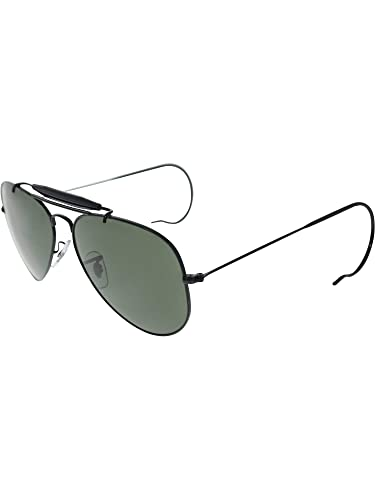 767cb533e52 Amazon.com  Ray Ban RB3030 Black G -15XLT L9500 58mm Sunglasses  Ray ...