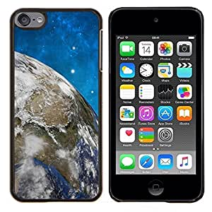 EJOOY---Cubierta de la caja de protección para la piel dura ** Apple iPod Touch 6 6th Touch6 ** --Espacio Planet Galaxy Estrellas 58