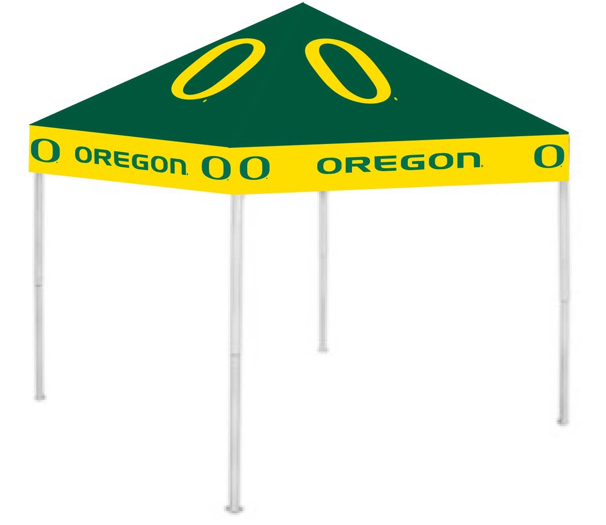 Rivalry RV326-5000 9 x 9 Oregon Ducks NCCA Ultimate Tailgate Canopy B003XKDBKU 9 x 9|オレゴンダックス オレゴンダックス 9 x 9