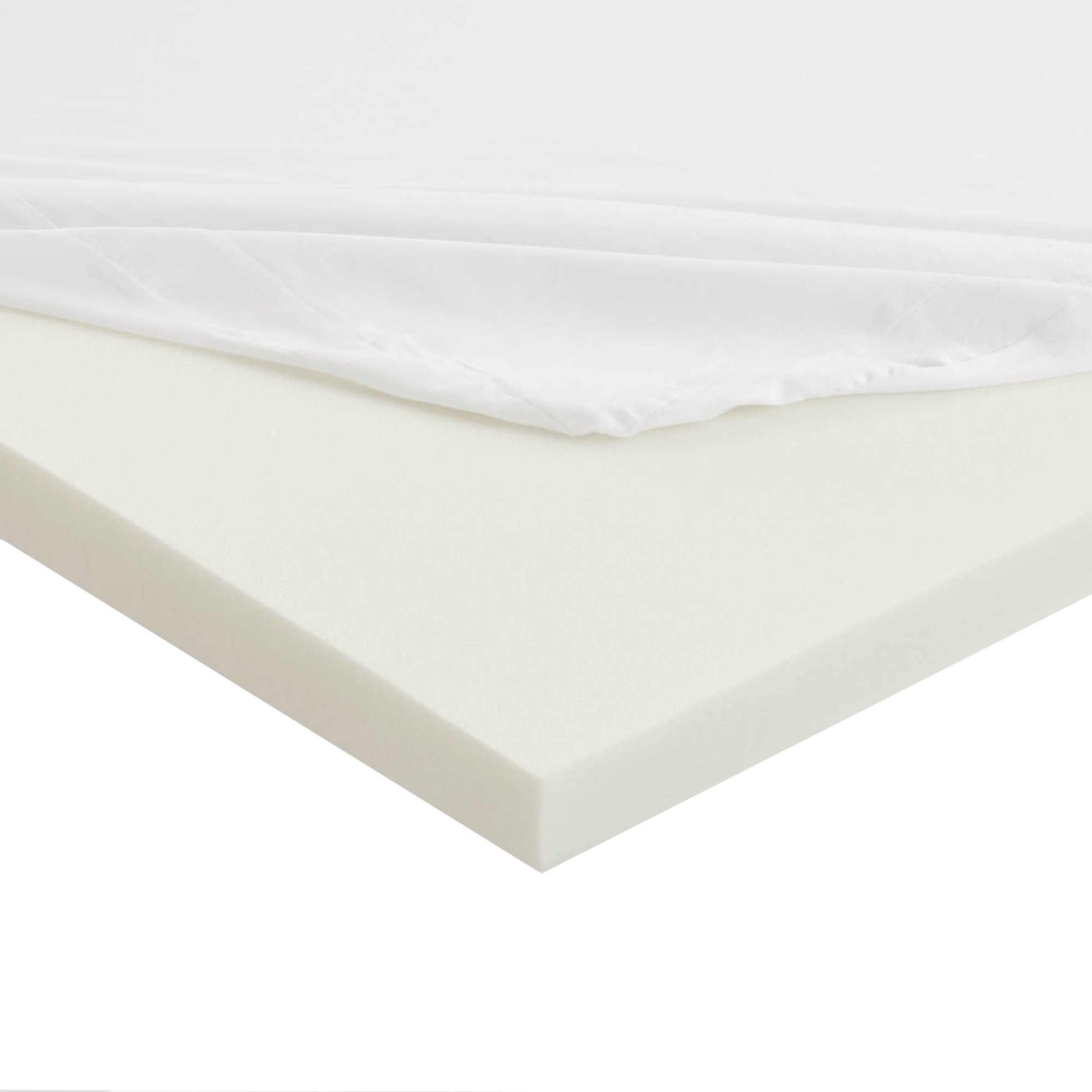 Sleep Innovations Anti-Allergy Memory Foam Mattress Topper, Twin