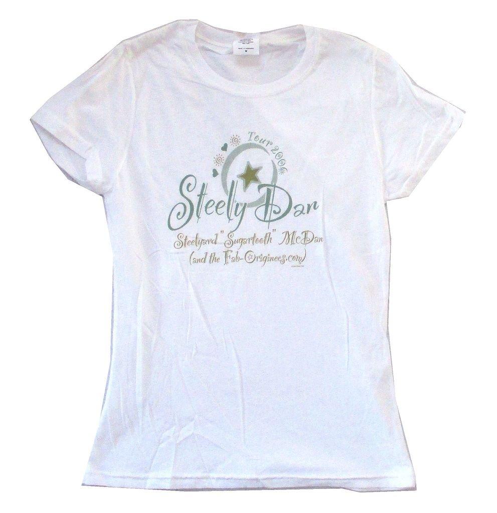 Sly Dan Star Tour 2006 Sugartooth Girls 7698 Shirts
