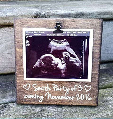 Amazon.com: Ultrasound Picture Frame gift! Gift for mom, photo board ...