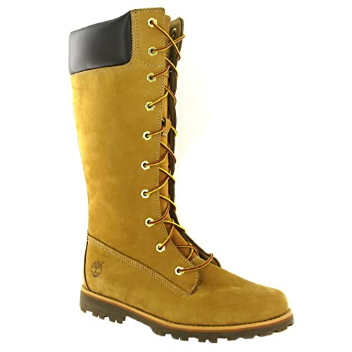 ee19a0531c5d SV - Timberland 83980 Junior Girls Asphalt Trail Classic Lace Up Side Zip  Boots - Wheat