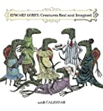 Edward Gorey: Creatures Real and Imagined 2018 Mini Wall Calendar