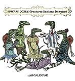 Edward Gorey: Creatures Real and Imagined 2018 Mini Wall Calendar