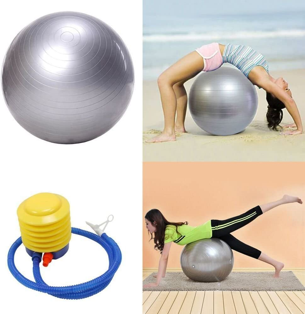 65cm Exercise Fitness Ball for Gymnastic GYM Yoga Pilates Balance Stability Ball