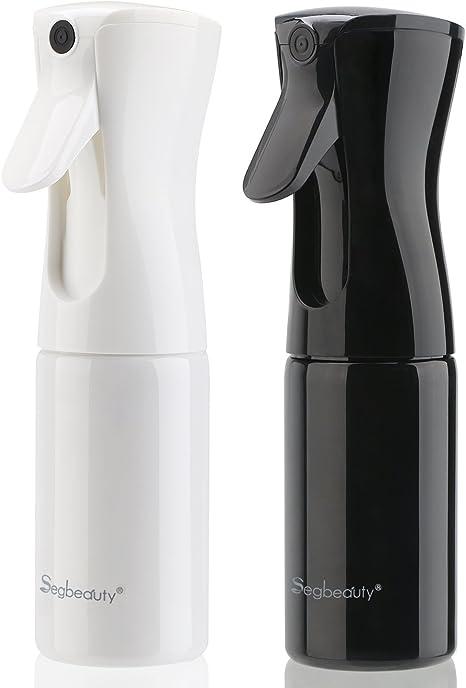 Image of2PCS Botella pulverizador agua peluqueria, Segbeauty 160ml fina niebla pulverizador continuo pulverizar refrescar la pelo / cara / plantas / playa tomar el sol