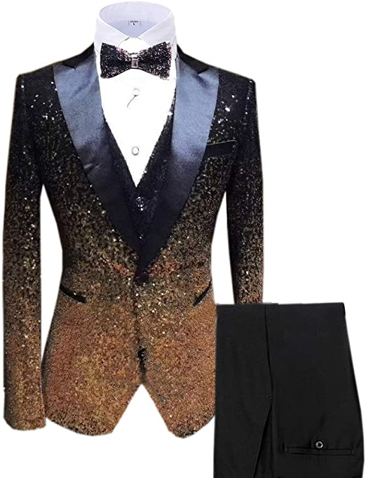 Men Dark Green Wedding Suit Slim Fit Groom Tuxedos Suit Groomaman Custom Size