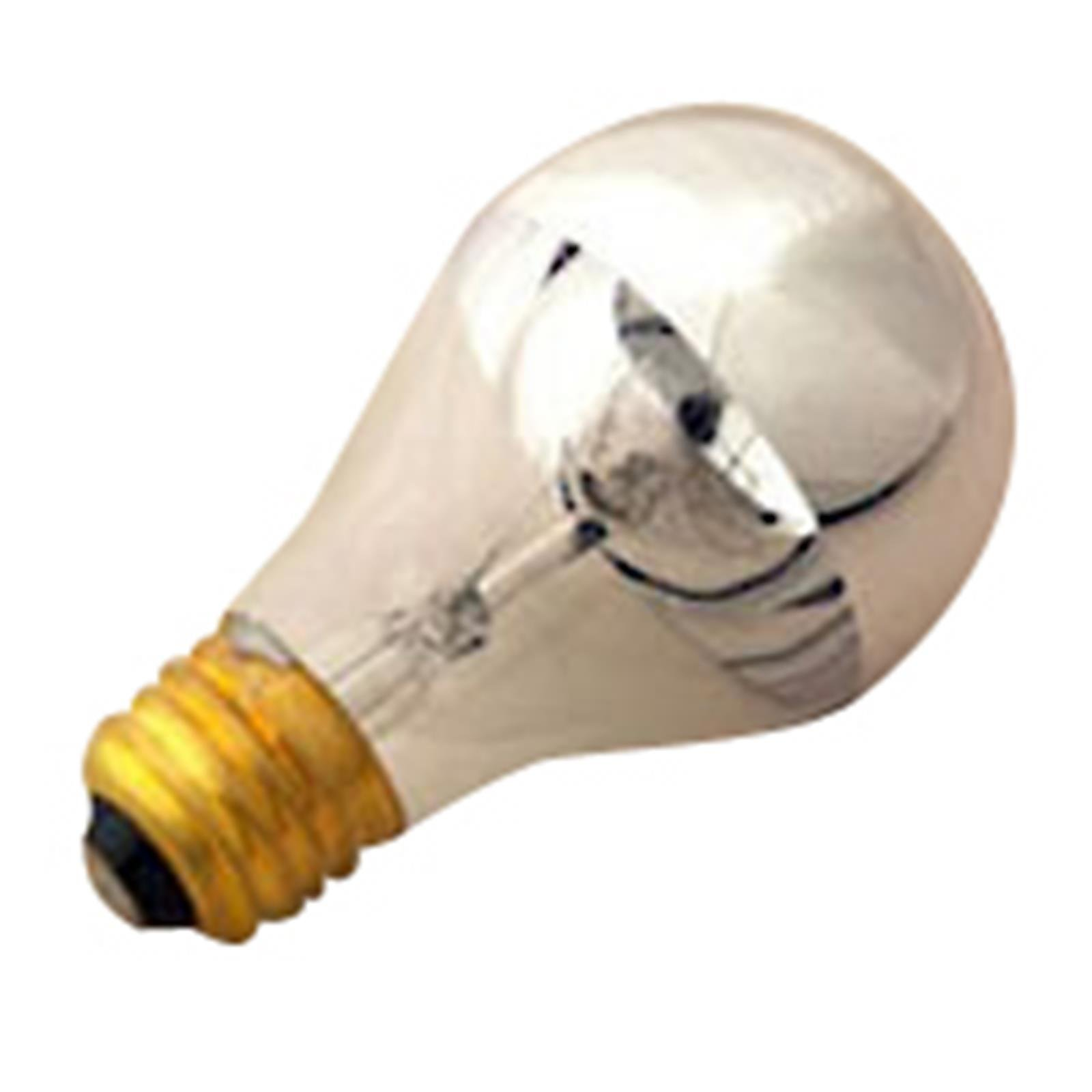 Halco 60w A19 Cl Sil Bowl 130v Prism A19cl60/Sb 60w 130v Incandescent Clear Silver Bowl Prism Lamp Bulb