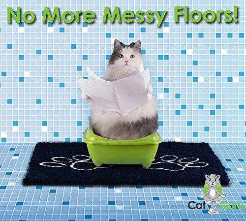 Catguru Waterproof Non Slip Machine Washable Cat Litter
