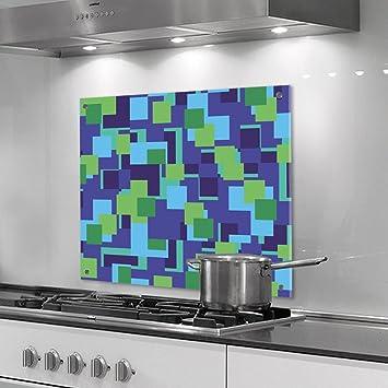 designersgroup - Küchenrückwand aus Plexiglas - Motiv: grüne ...