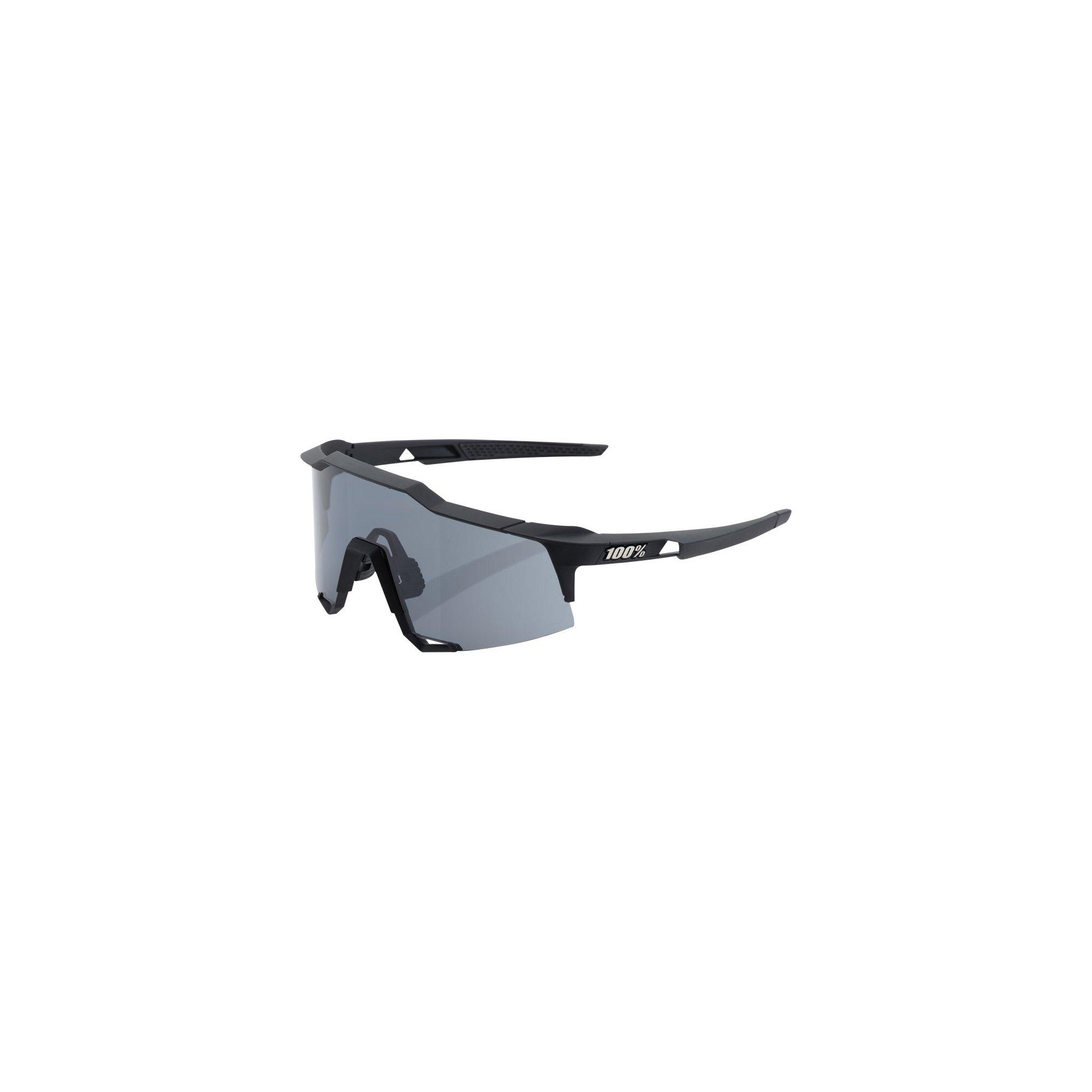 100% Unisex-Adult Speedlab (61001-100-57) Speedcraft-Soft Tact Black-Smoke Lens, Free Size) by 100%