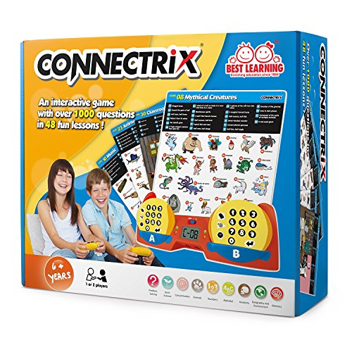 BEST LEARNING Connectrix - Exciting Educational Matching Game Toy for Kids 1 to 2 Players by BEST LEARNING (Image #4)
