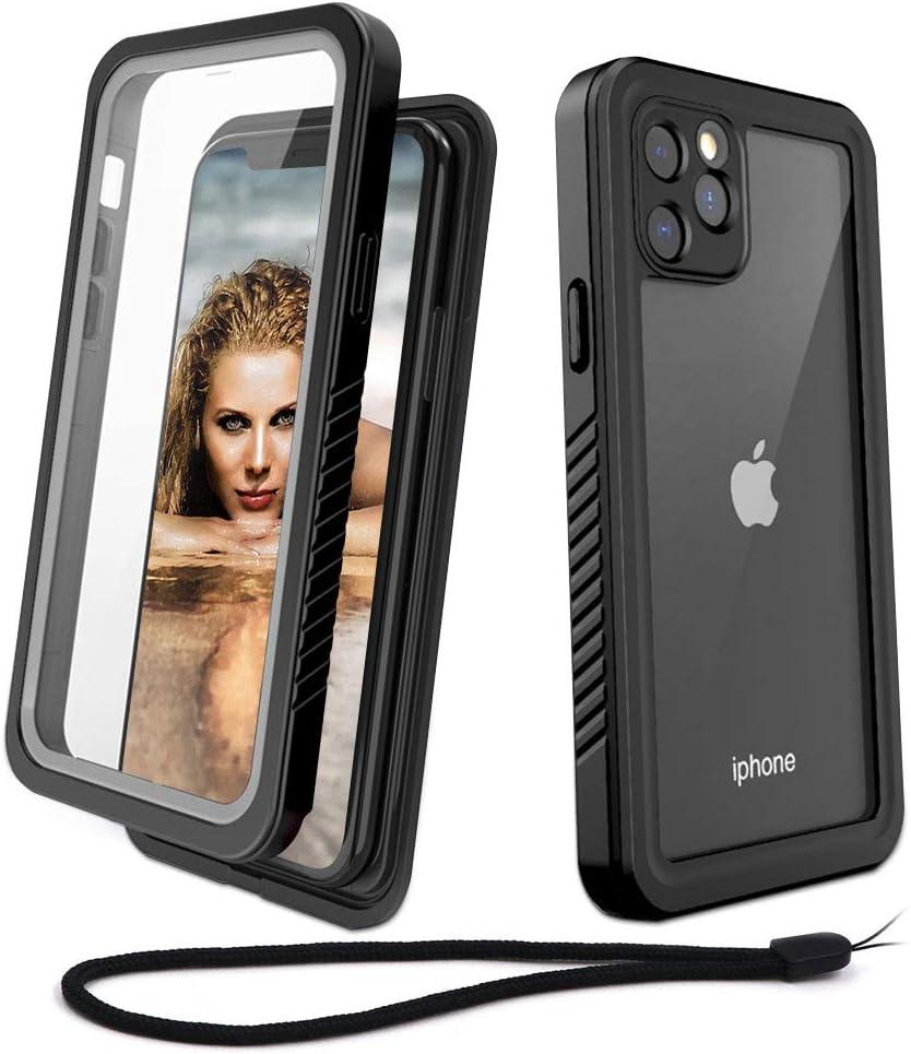 Beeasy Coque iPhone 11 Pro Antichoc,IP68 Étanche 360 ° Protection avec Protecteur d'Écran Intégré Imperméable Antipoussière Anti-Neige Waterproof Etui ...