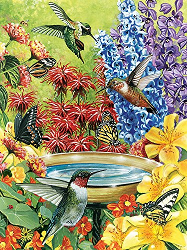 Cobble Hill Hummingbird Garden Puzzle, 500-Piece