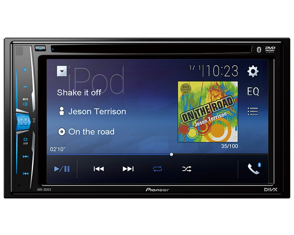 Volunteer Audio Pioneer AVH-201EX Double Din Radio Install Kit with CD Player Bluetooth USB/AUX Fits 2010-2011 Transit Connect by Volunteer Audio (Image #5)