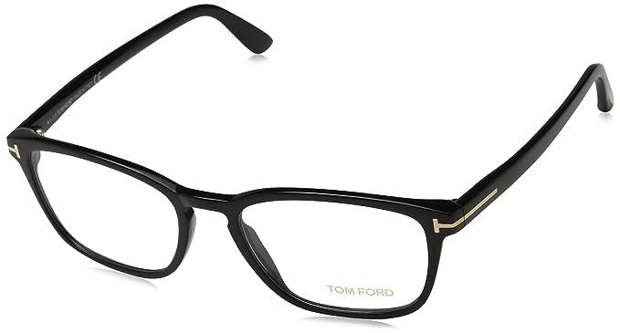 6cf09a04f0f TOM FORD Eyeglasses FT5355 001 Shiny Black 54MM at Amazon Men s ...