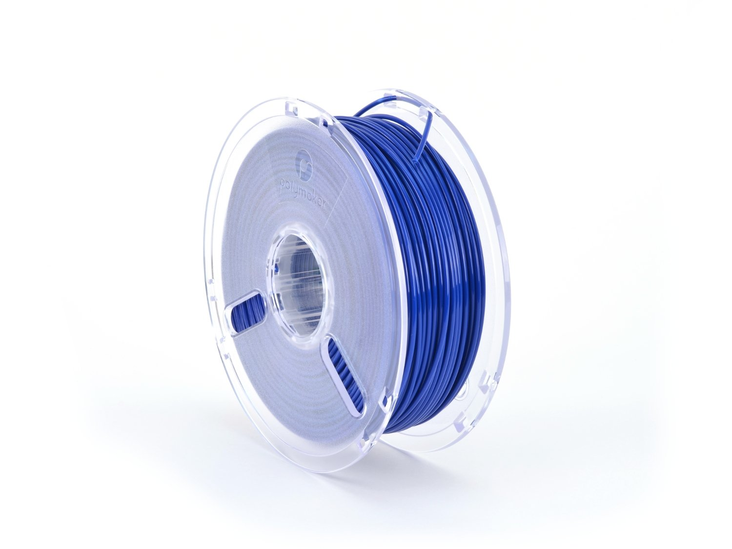 LulzBot PolyLite PLA Polymaker Filament, 2.85 mm, 1 kg Reel, True Blue