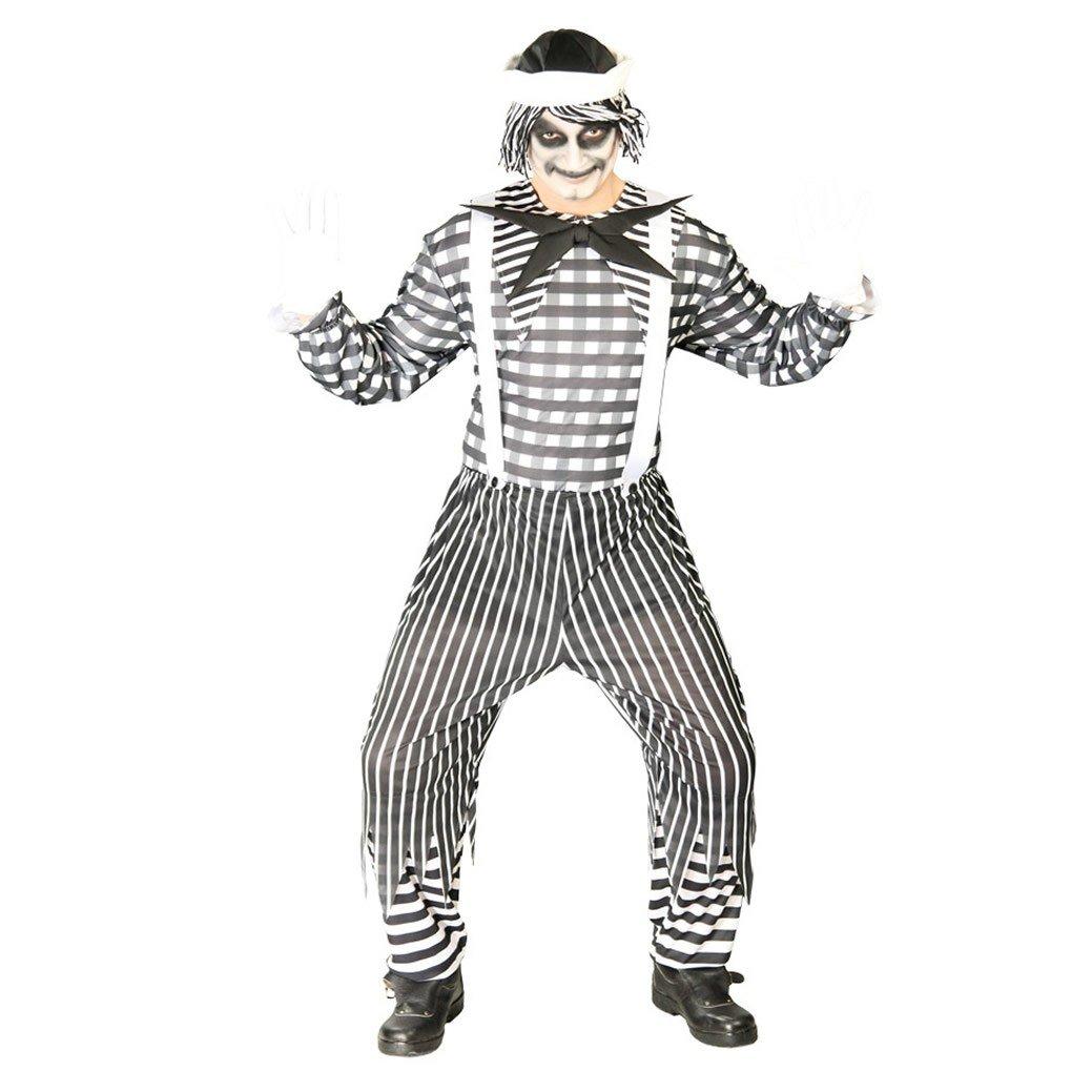 Disfraz de Mimo asesino (Talla 48-52): Amazon.es: Juguetes y juegos