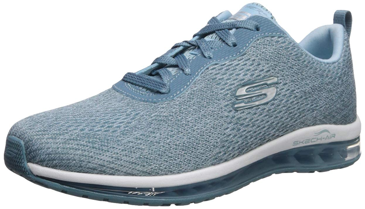 Details about Skechers Women's Skech AIR Element Cinema Sneaker, Light Blue, 7 M US