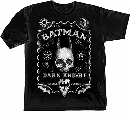 Batman HEROIC TO THE BONE Licensed Adult T-Shirt All Sizes