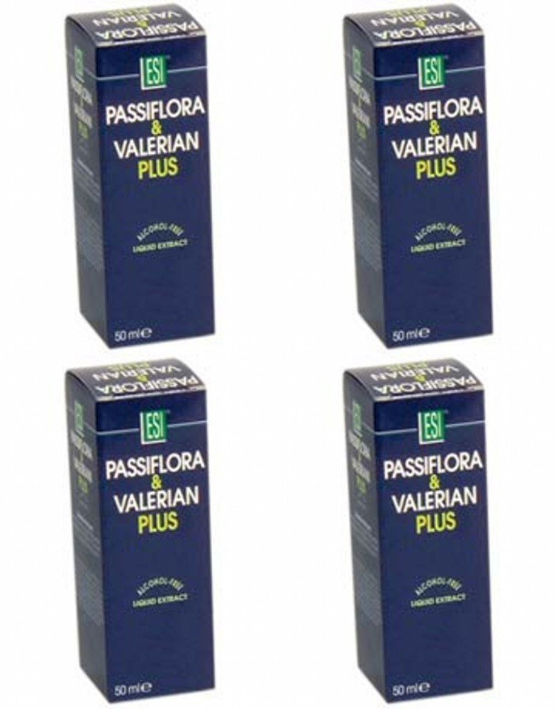 Amazon.com: (4 PACK) - ESI - Passiflora & Valerian Plus | 50ml | 4 PACK BUNDLE: Health & Personal Care