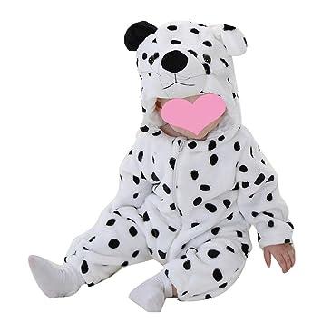Bebé Strampler Bebe invierno niño niña franela animal Vetements ...