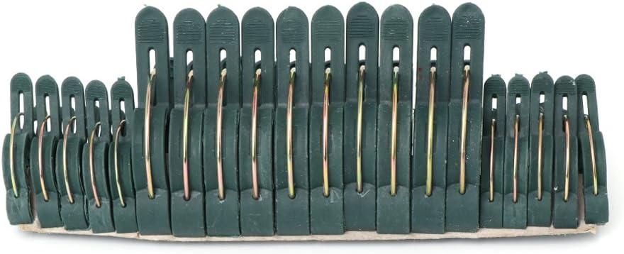 pour Soutenir Redresser Tiges Tiges Vignes UNFAIR 20 Pcs Doux Jardin Plante Fleur Levier Boucle Pince Clips