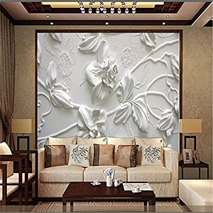 Lhdlily 3d Wallpaper Mural Wall Sticker Thickening Living Room Hd