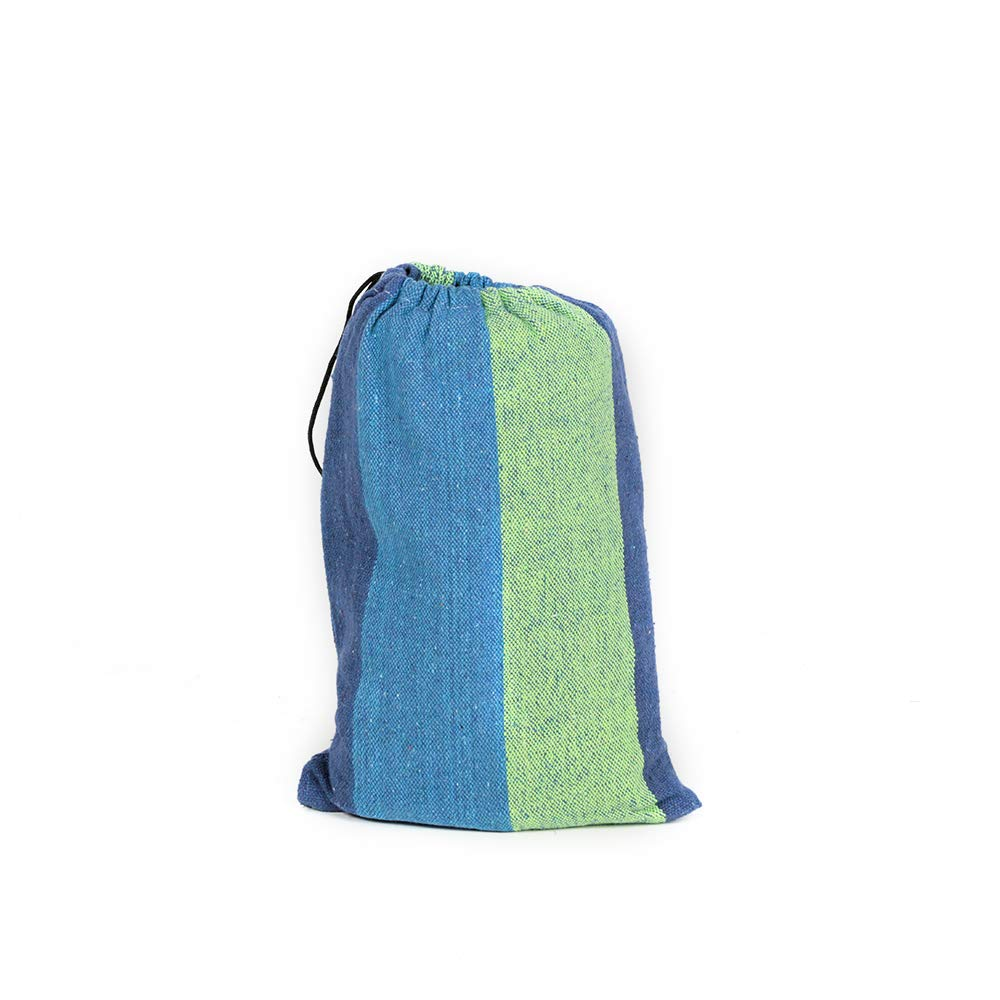 ZENITHIKE A-Quality Hammock for Double Person Colorful Durable Canvas Hammock for Outdoor use.