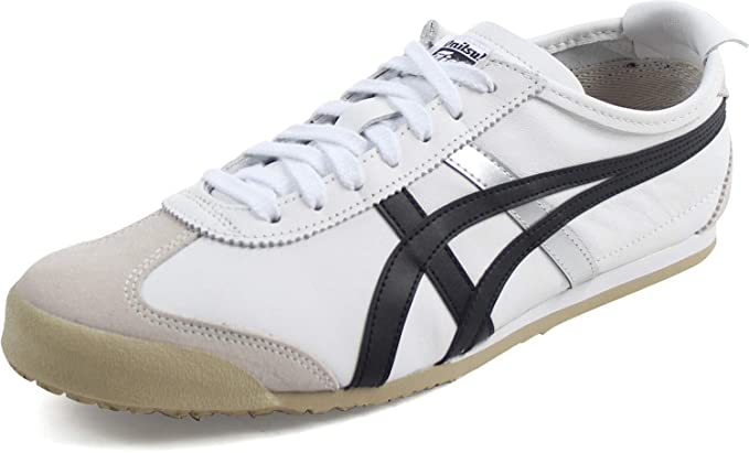 wholesale dealer 55b93 8fc26 Onitsuka Tiger - Unisex-Adult Mexico 66 Sneakers, Size: 12.5 D(M) US,  Color: White/Black