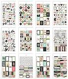 Carpe Diem Fun Design Bloom Mini Sticker Tablet
