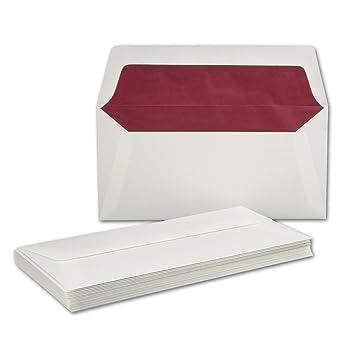 Sobres para cartas - Blanco DIN largo - 11 x 22 cm - Papel ...