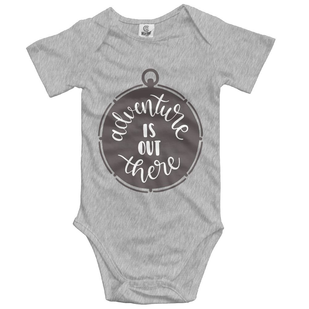 Midbeauty Adventure Out There Unisex Baby Sleeveless Bodysuit