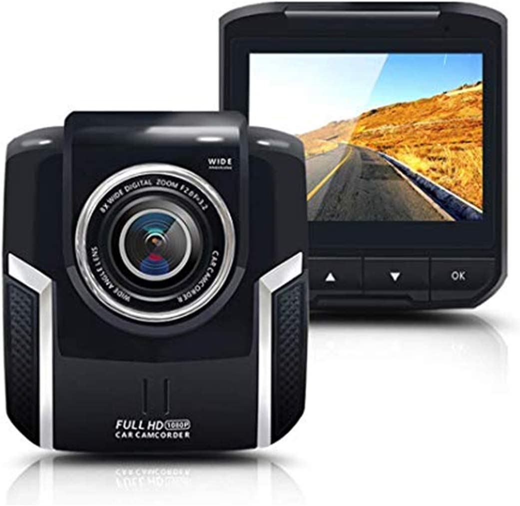 Car Mini Dash Cam, Vehicle Driving DVR Recorder WDR 2 Inch LCD Screen 1080P FHD Backup Camera