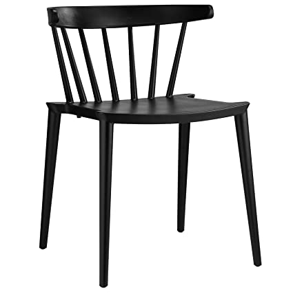 Exceptionnel Modway Spindle Dining Side Chair, Black