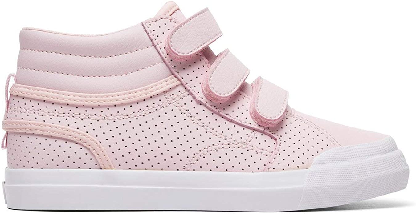 DC Shoes Evan Hi V SE Sneakers Kinder Mädchen Rosa