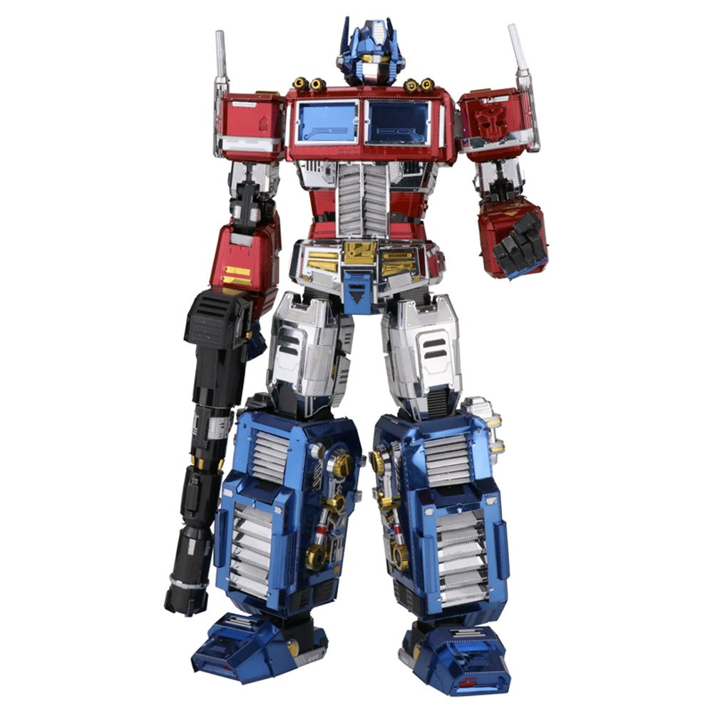 MU 3D Metal Puzzle Transformers Optimus Prime G1 Assemble Model Kits YM-L035 DIY 3D Laser Cut Jigsaw Toy Maplemu YM-L003