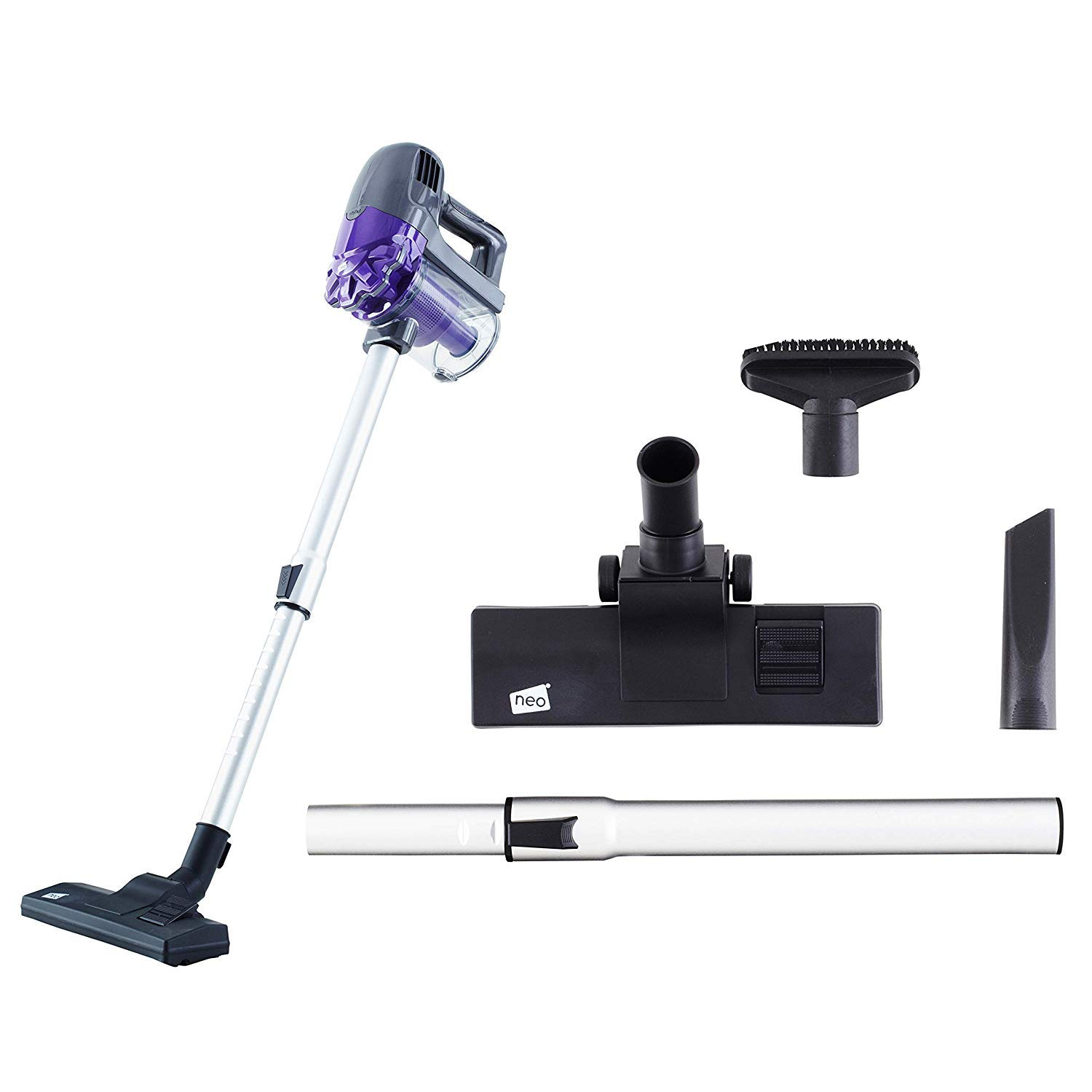 22.2V Lithium Cordless Hoover Upright 2in1 Handheld Stick Vacuum Cleaner Purple