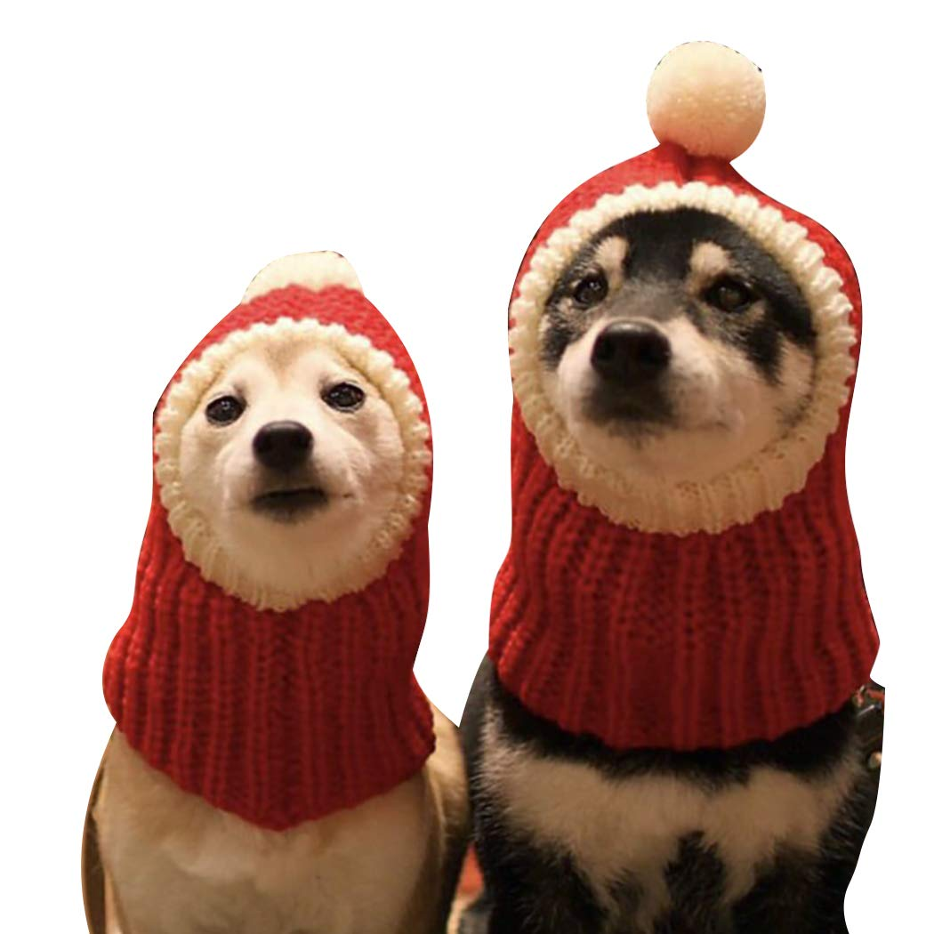 Legendog Xmas Pet Hat Winter Warm Knitting Dog Cap Dog Beanie for Puppies Kittens by Legendog