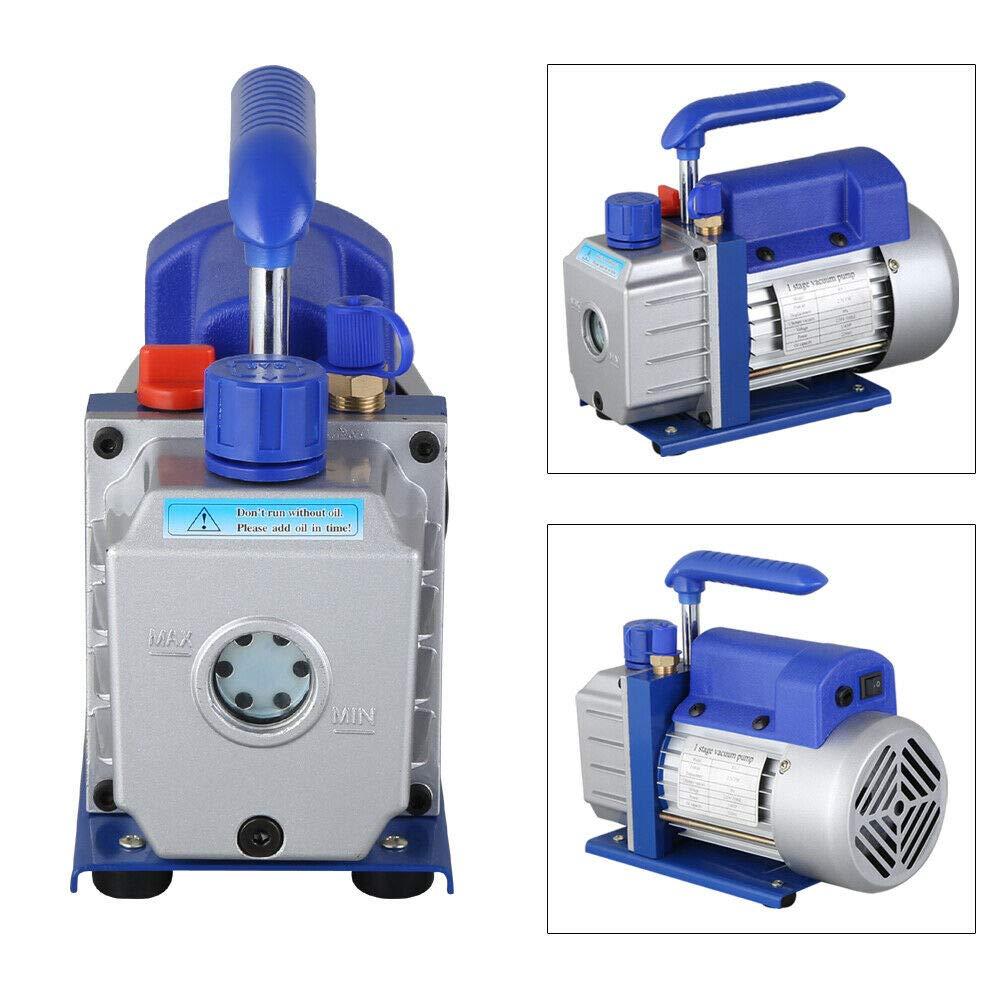 4HP 2.5CFM Rotary Refrigeration 180W 220V Vaccum Pump,Vacuum Chamber Ki 1