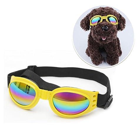 Gafas de sol para perro Owikar, gafas de sol plegables y ...