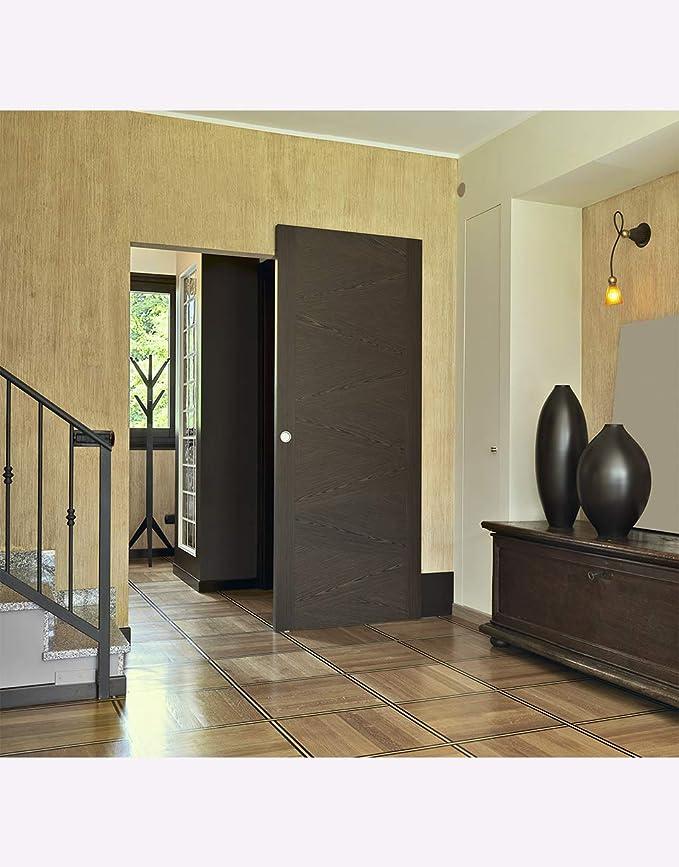 Sistema de puertas correderas invisibles - Hidden Series - 80Kg: Amazon.es: Bricolaje y herramientas
