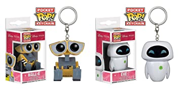 Amazon.com: Wall-E – Wall-E y Eva Pocket POP. Vinyl cifras ...