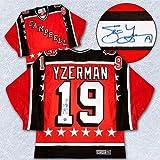 Autographed Steve Yzerman 1984 Nhl All Star Campbell Conference Rookie Season Jersey - Signed NHL Jerseys