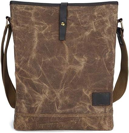 HXZB Men Handbag Multi-Function Single Shoulder Messenger Bag Fashion Retro Briefcase