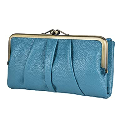 Womens Leather Wallets Credit Card Holder Purse Ladies Short Clutch Wallet US